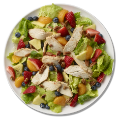 Strawberry Poppyseed Salad with Chicken